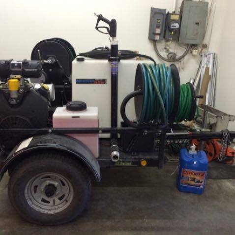A Picture of Hydro Jetter Equipment.